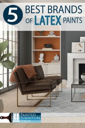 What paint brand is the best? Learn the 5 best brands for wall and furniture painting DIY projects!