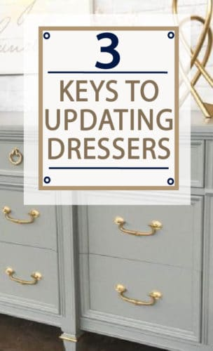Repainting a dresser? Before you invest money and time, learn these 3 keys to make the most out of your DIY project! You will thank me later!
