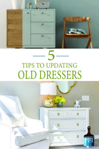 Give dressers new life with these great tips for dress makeovers!