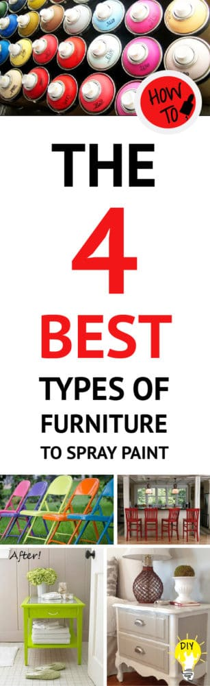 5 types of furniture that are best for spray painting page 4 of 4 painted furniture ideas. Black Bedroom Furniture Sets. Home Design Ideas