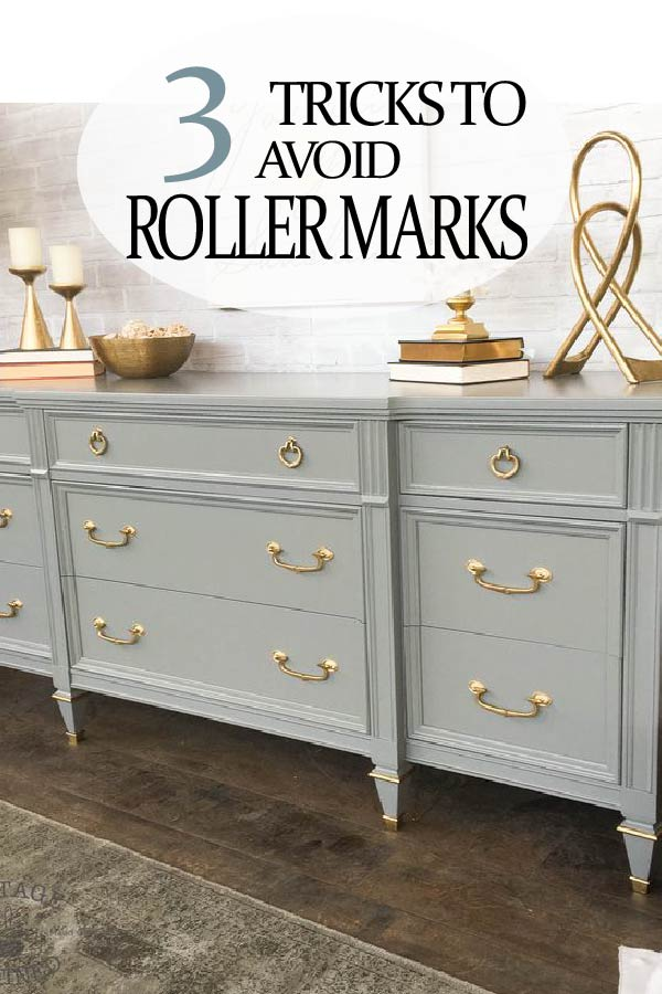 Painted Furniture Ideas 3 Tricks To Avoiding Roller Marks