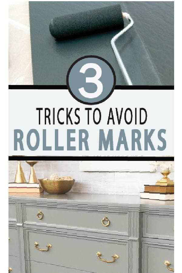 Painted Furniture Ideas | 3 Tricks to Avoiding Roller Marks