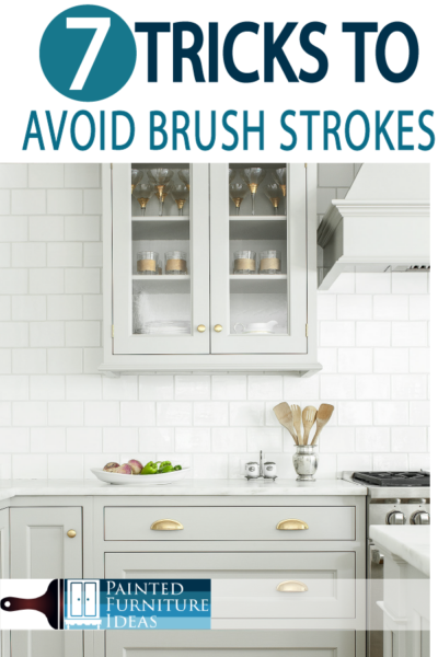 Avoid brush strokes with these great DIY painting tips!
