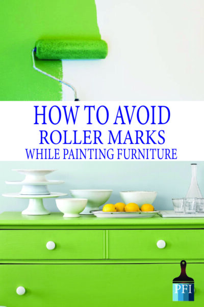 Avoid roller marks with these great tricks for your next DIY project