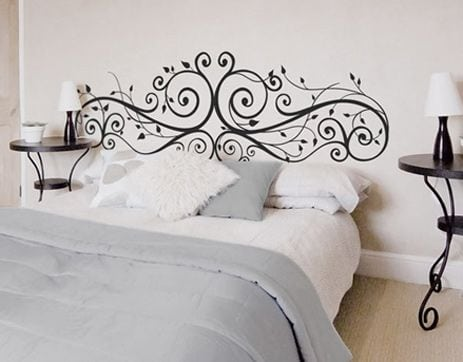 Painted Headboard Ideas 3 ways to do a diy headboard for under $50 - painted furniture ideas