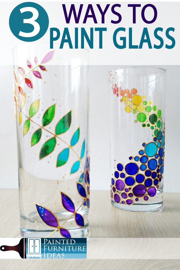 Painted Furniture Ideas 3 Ways To Paint Glass