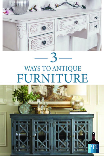 Antiqued Look When Painting Furniture, How To Antique Furniture