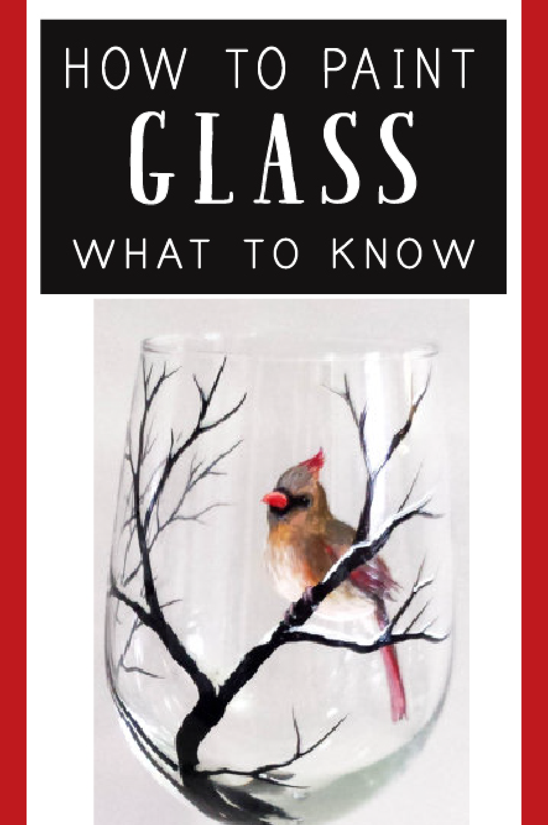 Learn how to paint on glass with these great tutorials!