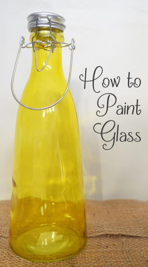 how to paint glass what to know. Black Bedroom Furniture Sets. Home Design Ideas