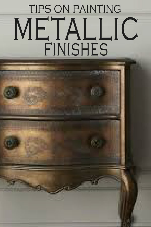Metallic Is Trending This Year, Learn How To Paint Metallic Finishes On  Your Next DIY