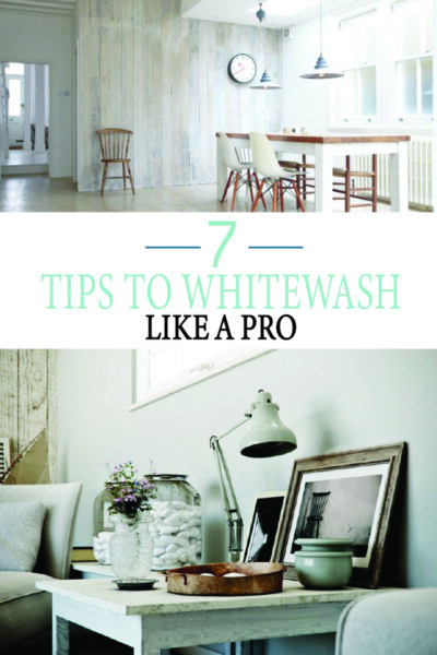 Achieve Whitewash furniture with DIY tips and tricks. Learn before you paint!