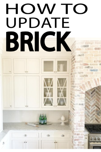 Fresh Ways To Update Brick Painted Furniture Ideas