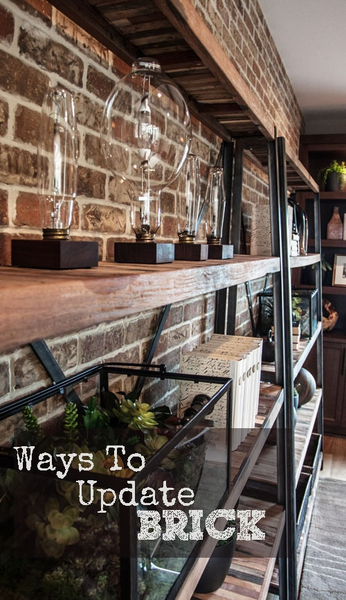 Ways To Update Brick Painted Furniture Ideas