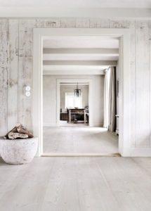 whitewash kitchen and walls