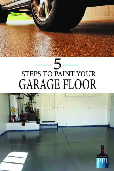 Paint your garage the right way with these 5 professional steps!
