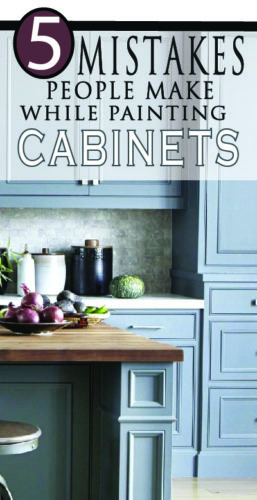 Learn from other DIY projects and do yours right. Paint your kitchen cabinets with a professional look!