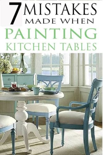 Learn How To Paint Kitchen Tables Like The Pros