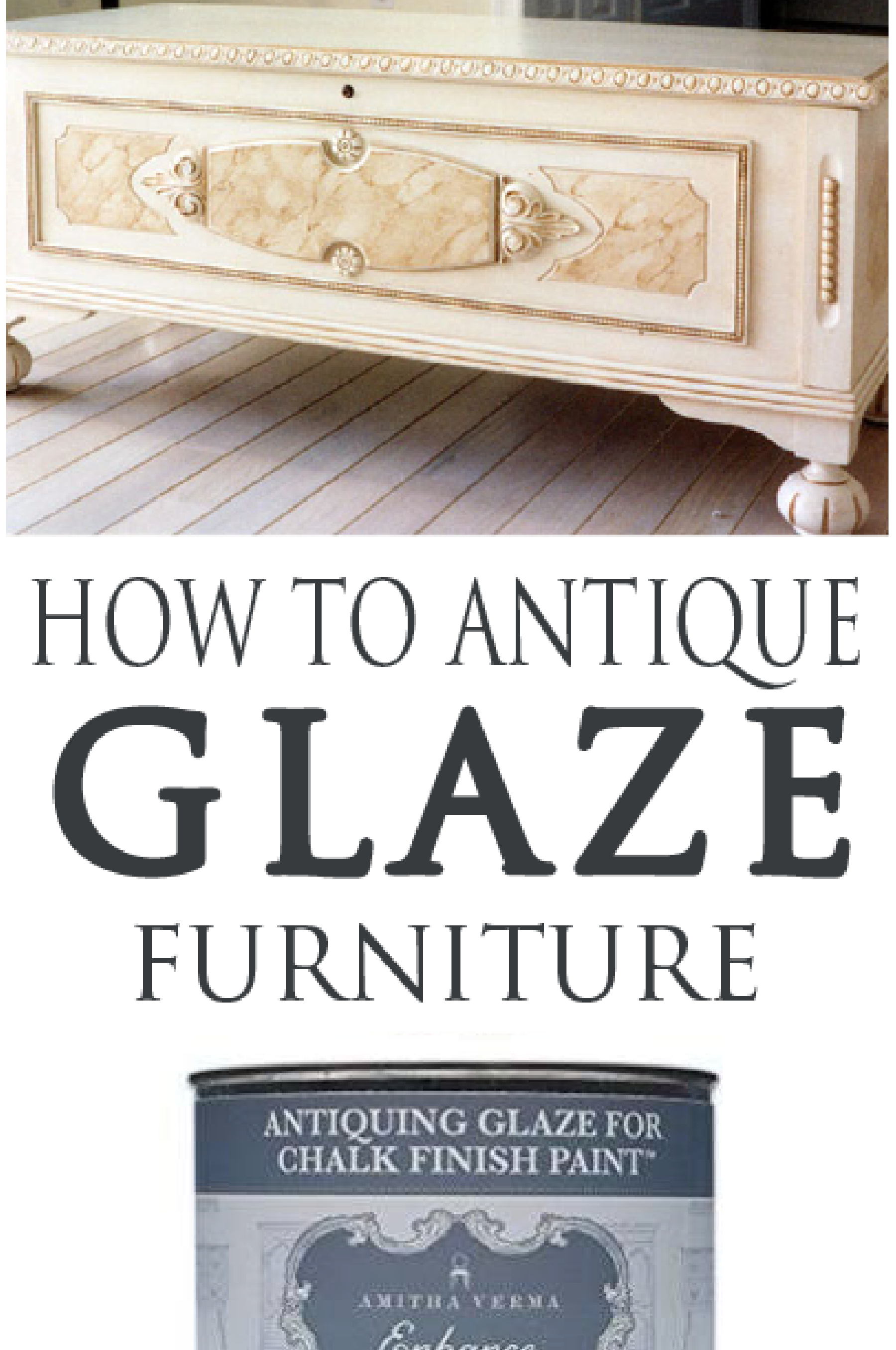 Learn how to antique glaze correctly with these easy steps.
