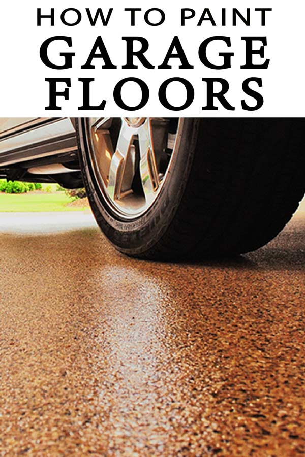Learn how to paint your garage floor! Paint and sealed garage floors are amazing! DIY with these great tips!