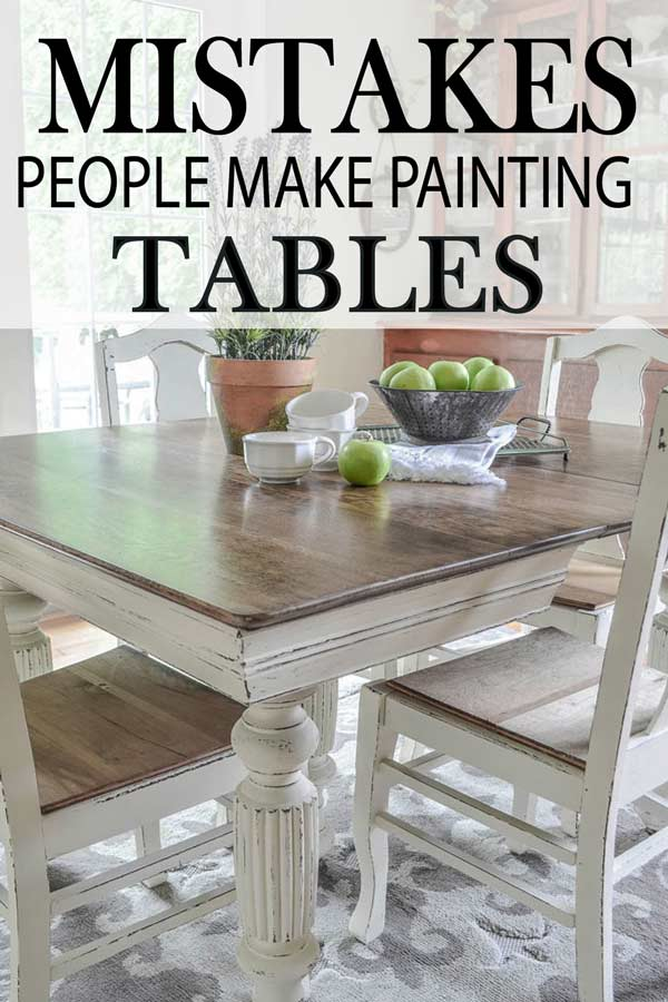 Learn How To Paint Your Kitchen Table Correctly By Learning Avoid These Major