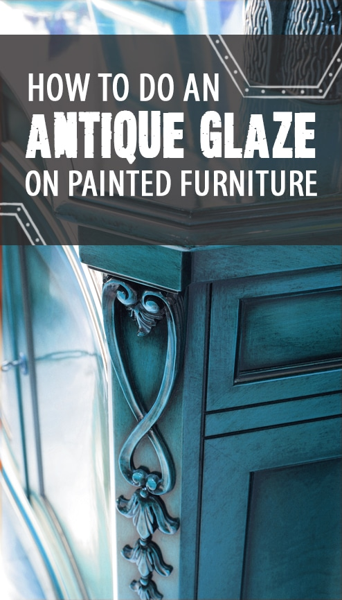 How to Do an Antique Glaze on Painted Furniture - How To Do An Antique Glaze On Painted Furniture - Painted