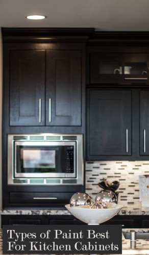 Learn what type of paints work best for kitchen or bath cabinets!