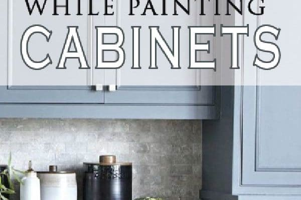 DIY Painted Furniture tips when painting kitchen cabinets. Learn from others to avoid these mistakes.