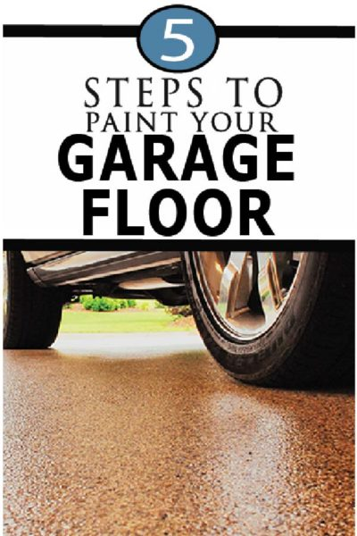 Painting garage floors is easier than you think, with amazing benefits!