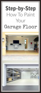 Step-by-step how to paint your garage floor
