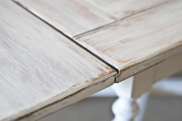 The Mistakes People Make While Painting A Kitchen Table Painted - Grey white wash dining table