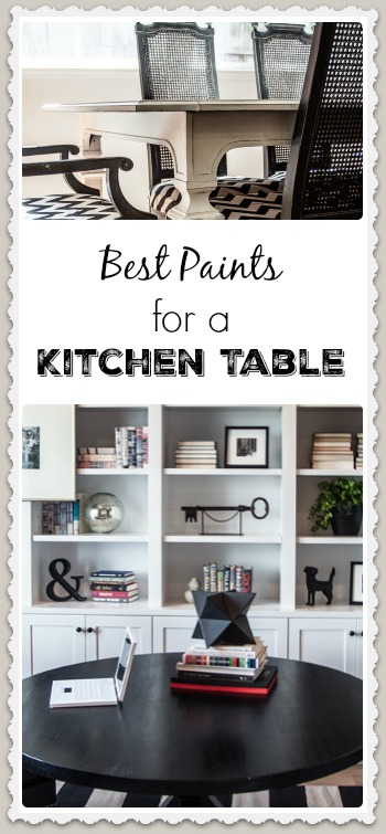 Best Paints For a Kitchen Table