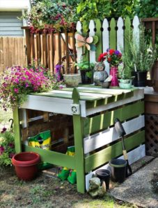 pallet-potting-station