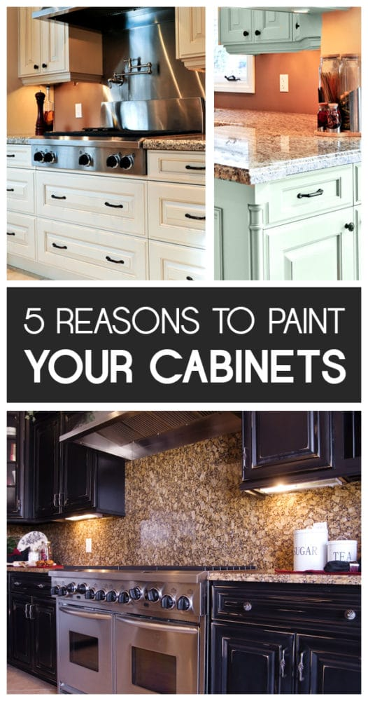 5 Reasons to paint your cabinets