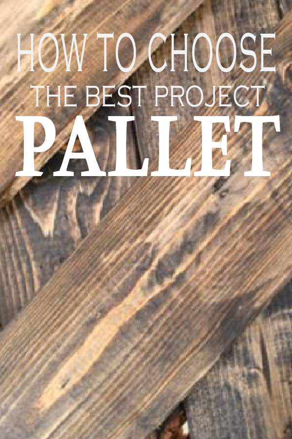 Learn which pallets are safe and will be best for your next DIY project!
