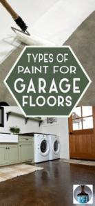 garage floors paint