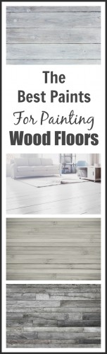 painting wood floors