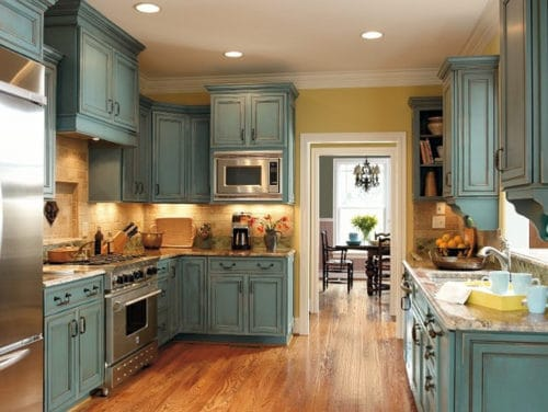 Great colors for painting kitchen cabinets page 3 of 4 for Best color for kitchen cabinets for resale