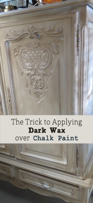 The Trick To Applying Dark Wax