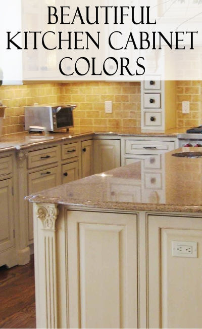 Beautiful kitchen cabinet color ideas! Get inspired with these beautiful options
