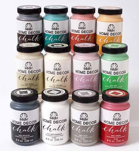 Can I Color Chalk Paint With Acrylic Craft Paint