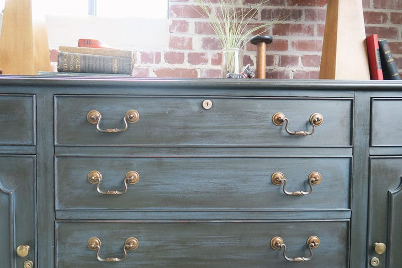 Painted Furniture Ideas Trick To Applying Dark Wax Over
