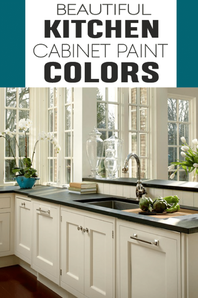 terrific kitchen paint color ideas | Great Colors for Painting Kitchen Cabinets - Painted ...
