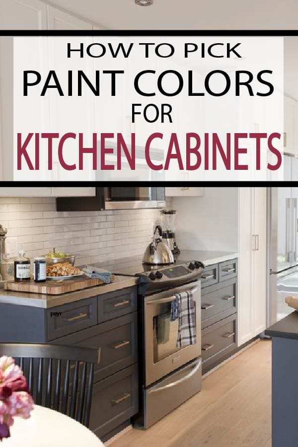 Painted furniture ideas how to pick paint colors for - How to change kitchen cabinet color ...