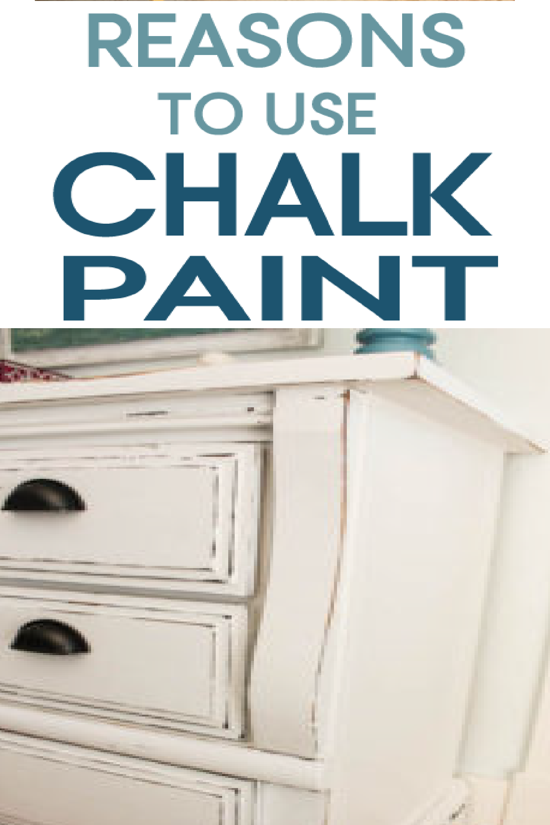 Learn advantages chalk paint might bring to your next DIY project.