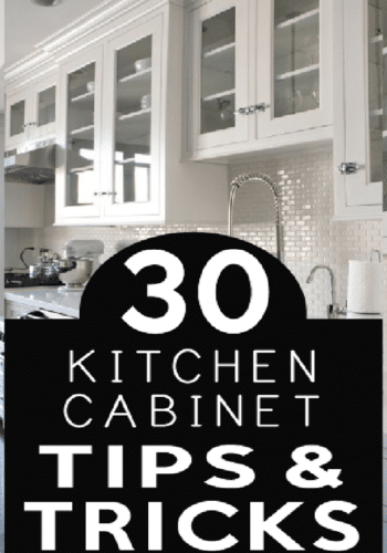 Before you paint check out these great DIY tips to make your kitchen remodel project easier