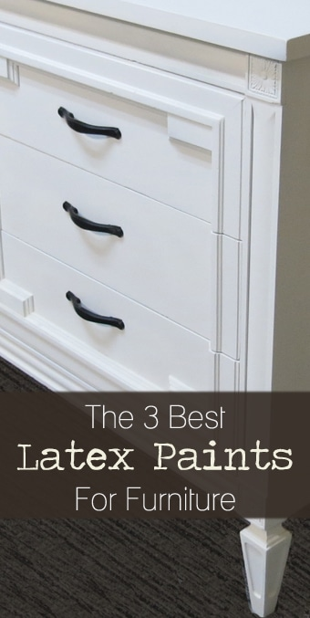 The 3 Best Latex Paints For Furniture Wood