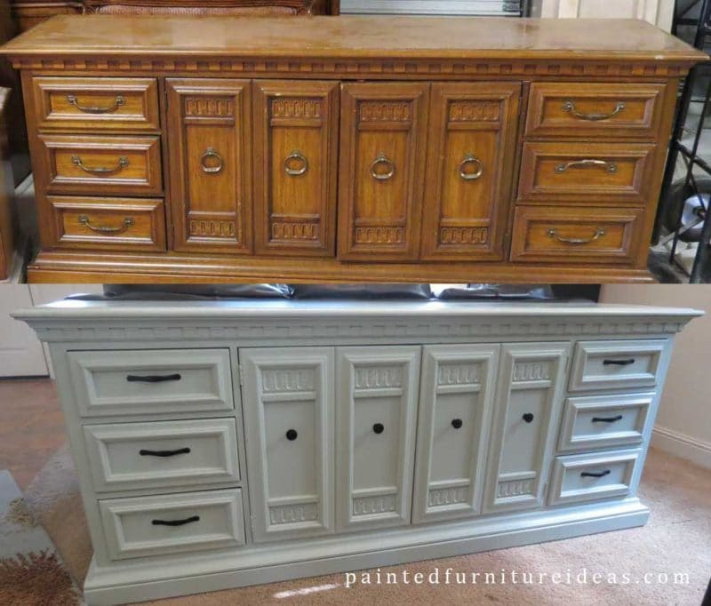 Painted Furniture Ideas Longdresser Before And After