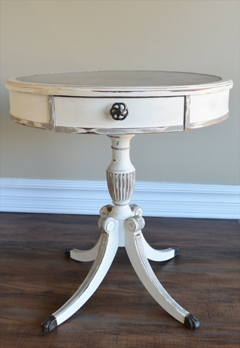 End Table Chalk Paint Redo Painted Furniture Ideas