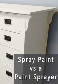 furniture paint sprayerSpray Paint Vs a Paint Sprayer  Painted Furniture Ideas