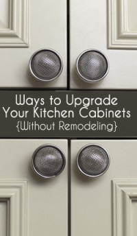 Upgrade Your Kitchen Cabinets